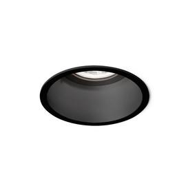 Deeper IP44 1.0 LED czarny - Wever & Ducré - oprawa wpuszczana