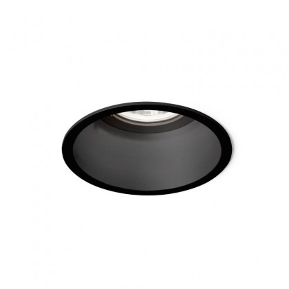 Deeper IP44 1.0 LED czarny - Wever & Ducré - oprawa wpuszczana - 152261B3 - tanio - promocja - sklep