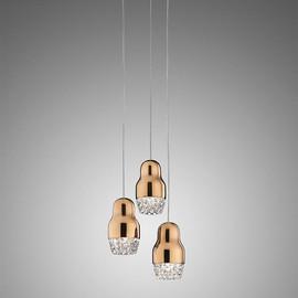 SP Fedora 3 złoty - Axo Light - lampa wisząca