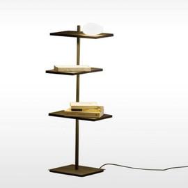 Suite 6011 brązowy - Vibia - lampa podłogowa