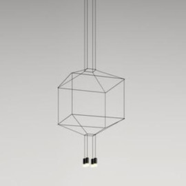 Wireflow 0309 czarny - Vibia - lampa wisząca
