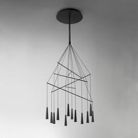 Mikado LA12 S czarny - Morosini - lampa wisząca