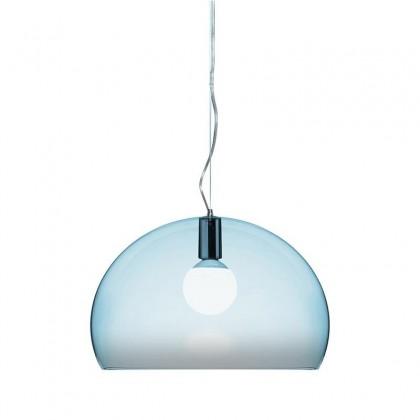 FL/Y niebieski - Kartell - lampa wisząca - 09030K2 - tanio - promocja - sklep