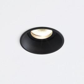 Deep IP44 1.0 LED czarny - Wever & Ducré - oprawa wpuszczana