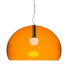 Big FL/Y pomarańczowy - Kartell - lampa wisząca