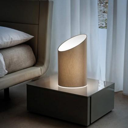 Pank TA jasny szary - Morosini - lampa biurkowa - 0520TA06TOFL - tanio - promocja - sklep