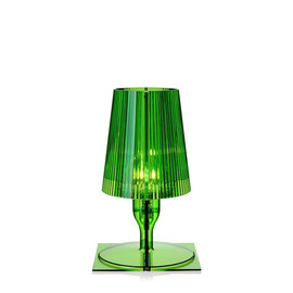 Take zielony - Kartell - lampa biurkowa