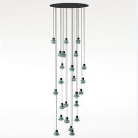 Drop S24 zielony - Bover - lampa wisząca