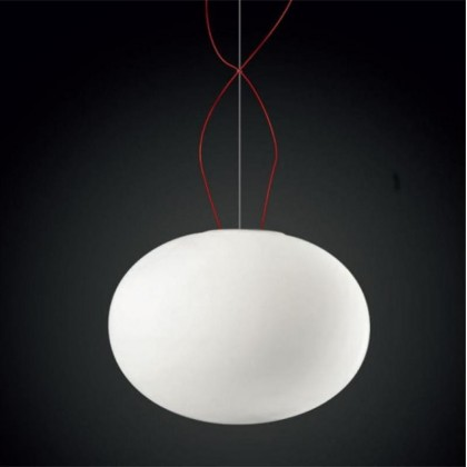 Gilbert E27 biały - Panzeri - lampa wisząca - L065010370000 - tanio - promocja - sklep