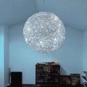 Fil de Fer 12V LED aluminium - Catellani & Smith - lampa wisząca