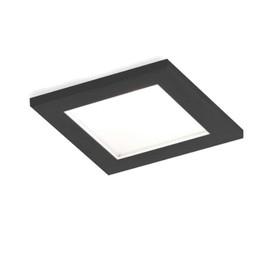 Luna Square IP44 1.0 LED HV czarny - Wever & Ducré - oprawa wpuszczana