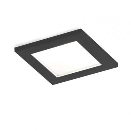 Luna Square IP44 1.0 LED HV czarny - Wever & Ducré - oprawa wpuszczana - 114488B5 - tanio - promocja - sklep