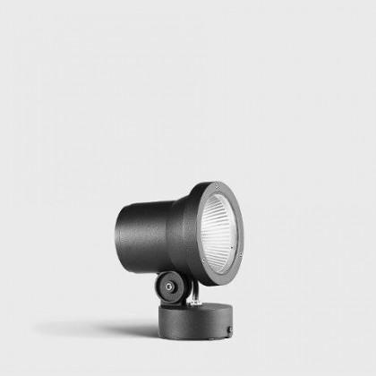 LED compact floodlights with mounting box jasny szary - Bega - spot - 7602K4 - tanio - promocja - sklep