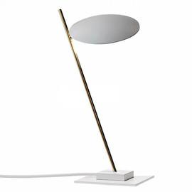 Lederam T1 biały - Catellani & Smith - lampa biurkowa