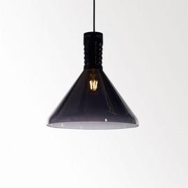 Miles C1 Smoke materiał glas - Delta Light - lampa wisząca