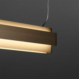 ONE-AND-ONLY P20 DOWN-UP 930 DIM5 złoty - Delta Light - lampa wisząca