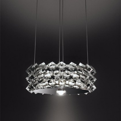 Collier by przezroczysty - Cini&Nils - lampa wisząca - H01103 - tanio - promocja - sklep