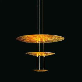 Macchina della Luce mod. E złoty - Catellani & Smith - lampa wisząca