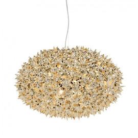 Bloom S1 złoty - Kartell - lampa wisząca
