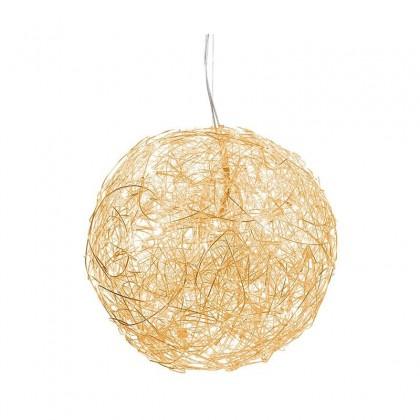 Fil de Fer 100 złoty - Catellani & Smith - lampa wisząca - F10SLG - tanio - promocja - sklep