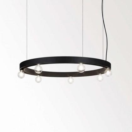 Super-Oh! 120 czarny - Delta Light - lampa wisząca - 308120700B - tanio - promocja - sklep