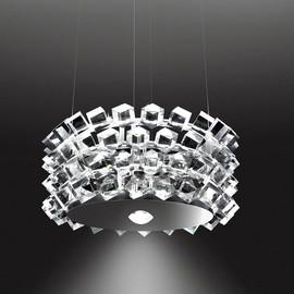 Collier Quattro przezroczysty - Cini&Nils - lampa wisząca