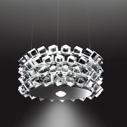 Collier Quattro przezroczysty - Cini&Nils - lampa wisząca - H01104 - tanio - promocja - sklep