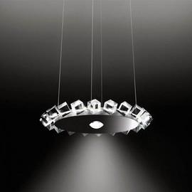 Collier Uno przezroczysty - Cini&Nils - lampa wisząca