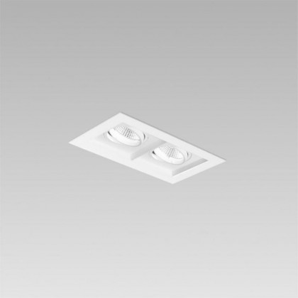 Karo 80 2 lamps square trim biały - XAL - oprawa wpuszczana - 0484322537M10 - tanio - promocja - sklep