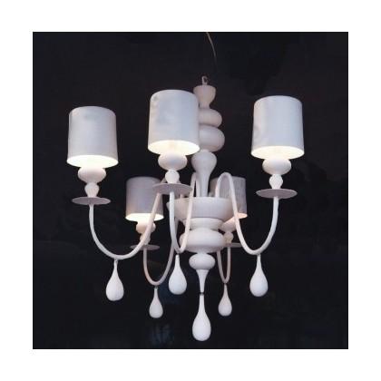 Eva Chandelier biały - Masiero - lampa wisząca - EVAS5 - tanio - promocja - sklep