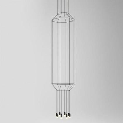 Wireflow 303 czarny - Vibia - lampa wisząca - H30304 - tanio - promocja - sklep