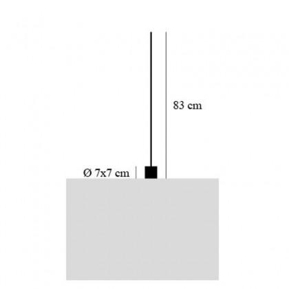 Light Stick 6LED złoty - Catellani & Smith - lampa biurkowa - ECLS602 - tanio - promocja - sklep