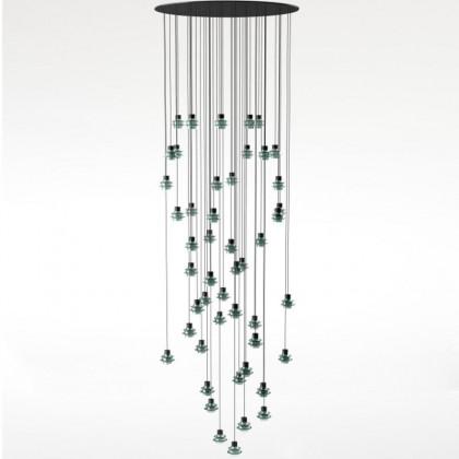Drop S48 zielony - Bover - lampa wisząca - 2594821058 - tanio - promocja - sklep