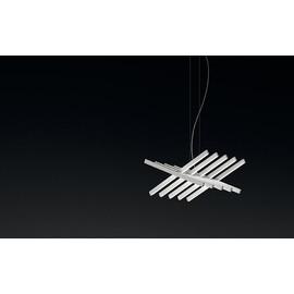 Rhythm 2110 biały - Vibia - lampa wisząca