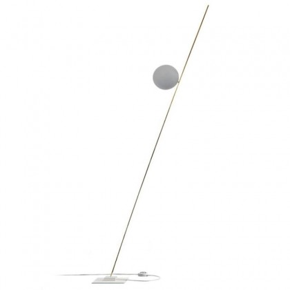 Lederam F1 biały - Catellani & Smith - lampa podłogowa - LF1502 - tanio - promocja - sklep