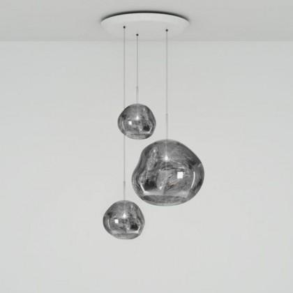Melt Trio Round chrom - Tom Dixon - lampa wisząca - MLPS01CHPEUM1 - tanio - promocja - sklep