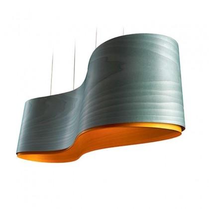 New Wave LED Dim turkus - Luzifer LZF - lampa wisząca - LZNWAVSLEDDIM3024 - tanio - promocja - sklep