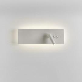 Edge Reader LED Double Switch biały - Astro - kinkiet