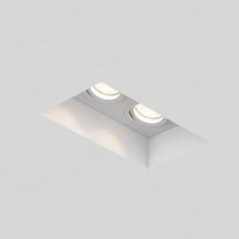 Blanco Adjustable Twin biały - Astro - oprawa wpuszczana