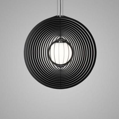 Soiree RC 81 E27 Opal czarny - Delta Light - lampa wisząca - 240160000B - tanio - promocja - sklep