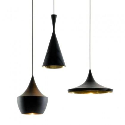 BEAT TRIO ROUND EU czarny - Tom Dixon - lampa wisząca - BLPS01PEUM1 - tanio - promocja - sklep
