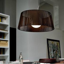 Ribbon SO 80 brązowy - Morosini - lampa wisząca