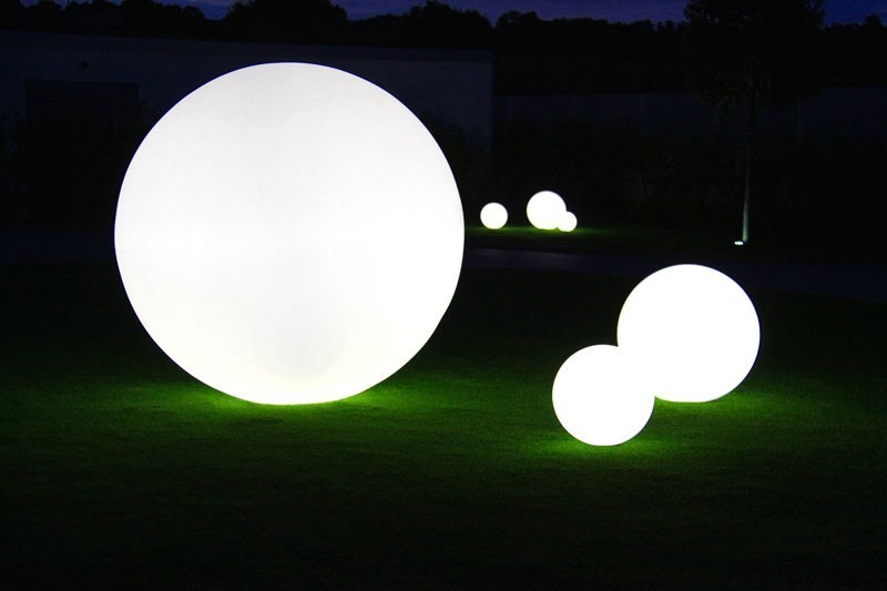Globo 30 OUT Glossy - Slide - lampa stojąca zewnętrzna