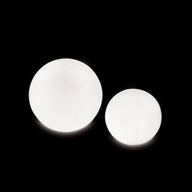 Globo 80 OUT Glossy - Slide - lampa stojąca zewnętrzna