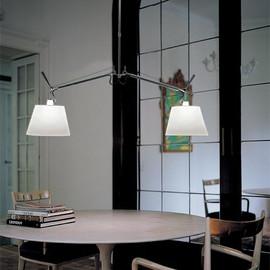 Tolomeo Basculante 42 jasny szary - Artemide - lampa wisząca