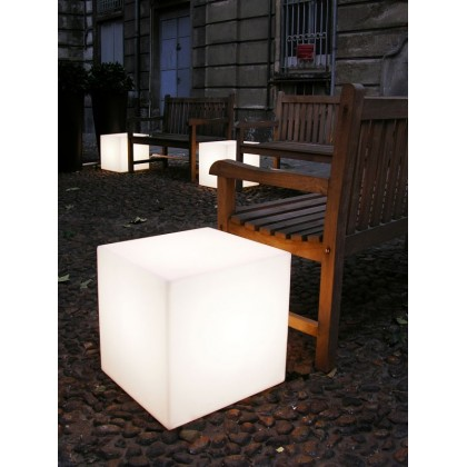 Cubo 75 OUT - Slide - lampa stojąca zewnętrzna - LP CUE076 - tanio - promocja - sklep
