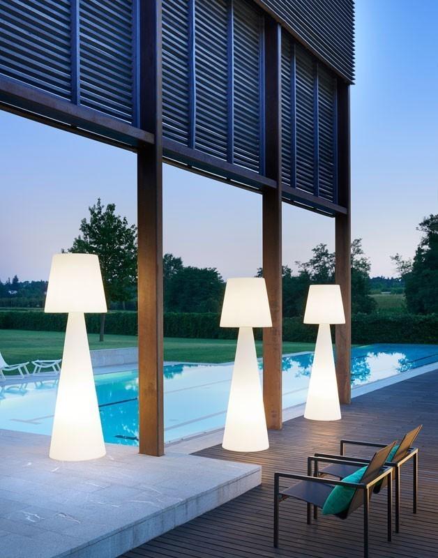 Co ile metrów lampy ogrodowe