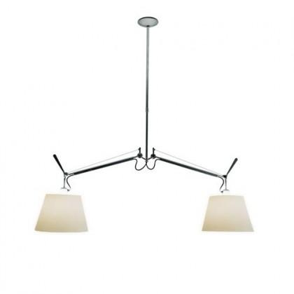 Tolomeo Basculante 32 parchment aluminium - Artemide - lampa wisząca - 63078020 - tanio - promocja - sklep
