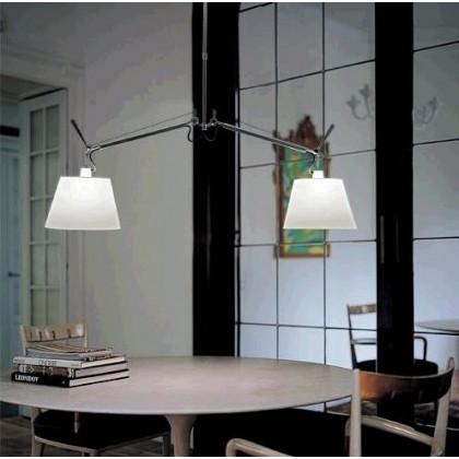 Tolomeo Basculante 32 jasny szary - Artemide - lampa wisząca - 630781010 - tanio - promocja - sklep
