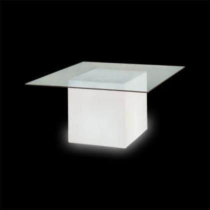 Square - Slide - stolik podświetlany